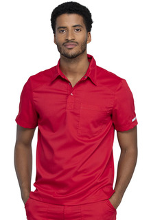 Revolution Men's Polo Shirt-Cherokee Workwear