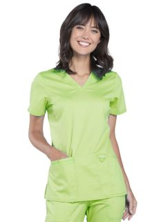 WW620 V-Neck Top-Cherokee Workwear