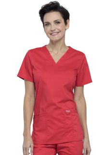 Cherokee Workwear Medical WW Revolution WW620 V-Neck Top-Cherokee Workwear