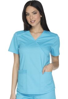 WW640 Mock Wrap Top-