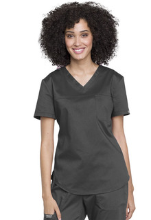 Tuckable V-Neck O.R. Top-Cherokee Workwear