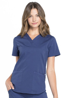 Pro Modern V-Neck Top-Cherokee Workwear