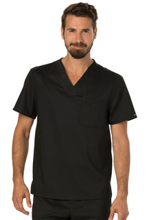 WW690 Mens V-Neck Top-Cherokee Workwear