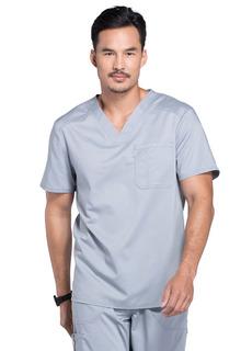 Revolution Men's 1 Pocket V-Neck Pullover Scrub Top - Workwear WW690