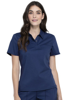 Snap Front Polo Shirt-Cherokee Workwear