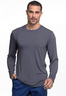 Pro Men's Stretch Long Sleeve Knit Tee/Underscrub - Workwear WW700-Cherokee Workwear
