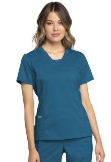 WSL - Revolution V-Neck Top-Cherokee Workwear