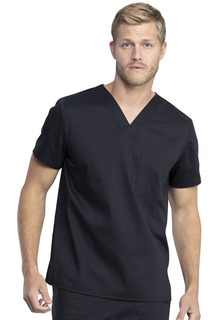 WW742AB Unisex Tuckable V-Neck Top-Cherokee Workwear
