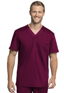 NEW Tech Men's V-Neck Top - WW755AB-Cherokee Workwear