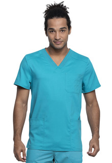 WW760AB Mens V-Neck Top-Cherokee Workwear