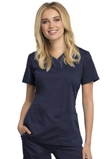 WW770AB V-Neck Top-Cherokee Workwear