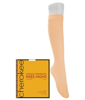 1- 2 Pair Packs of Knee Highs-Cherokee Medical
