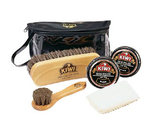 Kiwi Military Shoe Care Kit-Rothco