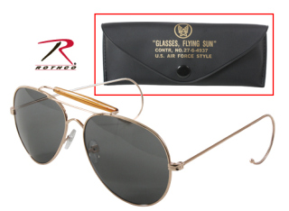Rothco G.I. Type Air Force Pilots Sunglasses With Case-Rothco