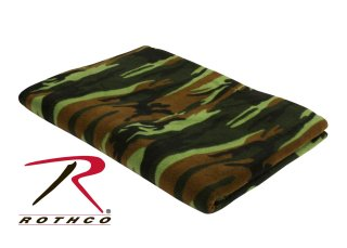 Rothco Camo Fleece Blanket-