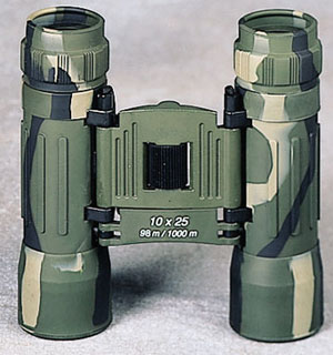 Rothco Camo Compact 10 X 25mm Binoculars-