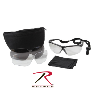 UVEX Genesis Military Eye Protection Kit-