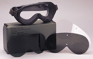 Genuine G.I. Type Sun, Wind & Dust Goggles-Rothco