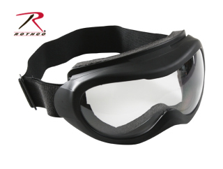 Rothco Black Windstorm Tactical Goggle-