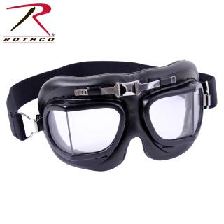 Rothco Aviator Style Goggles - Black