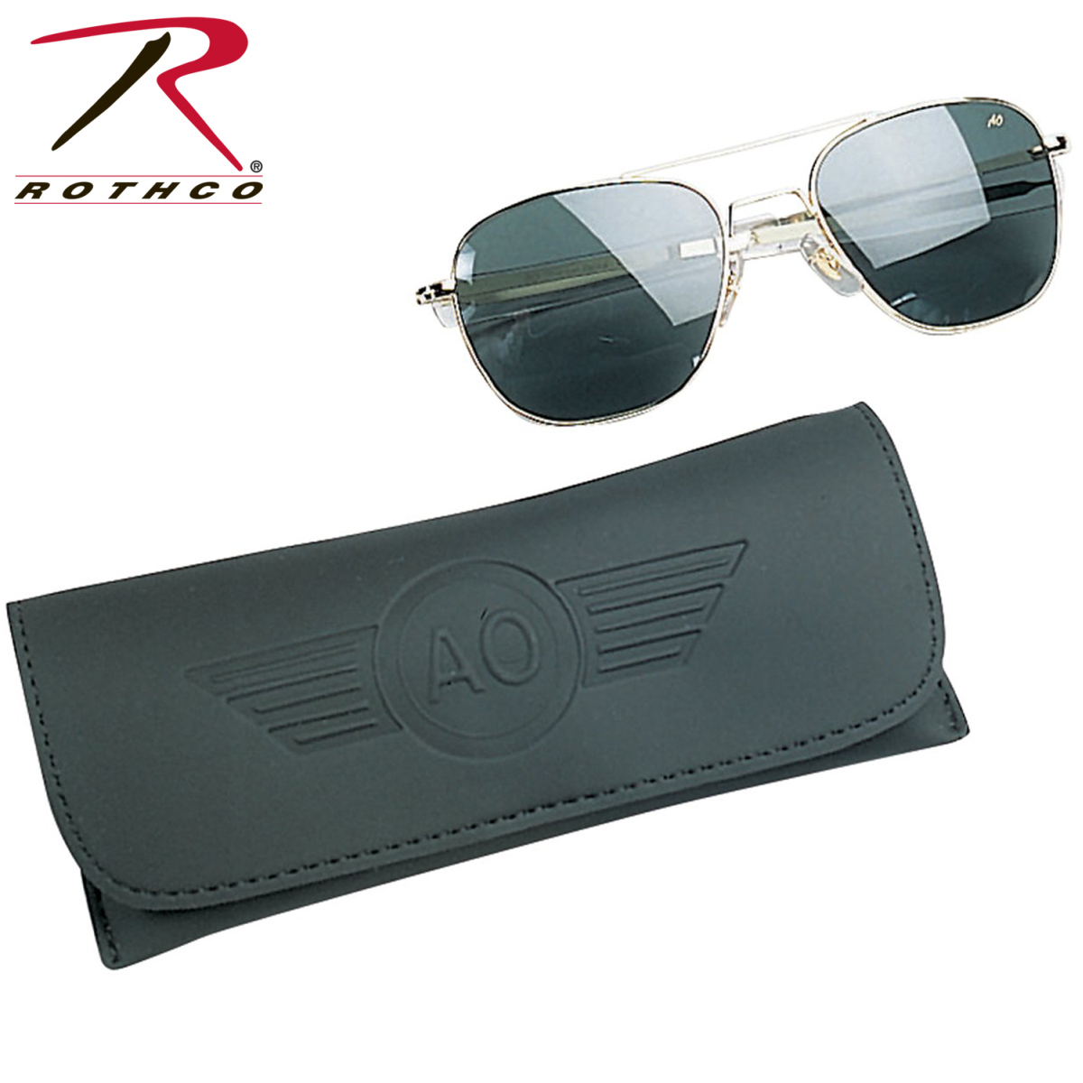 cc18c04645 Buy AO Eyewear 55MM Polarized Pilot Sunglasses - Rothco Online at ...