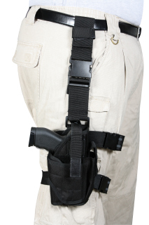 Rothco Deluxe Adjustable Drop Leg Tactical Holster-Rothco