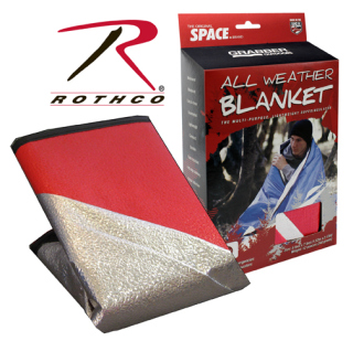Rothco Red All Weather Survival Blanket-