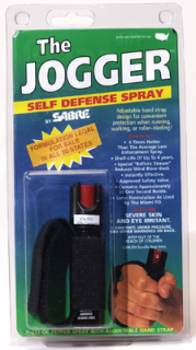 Sabre Pepper Spray Gel Jogger - Special Formula P-22J-OC-US-