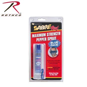 Blue Sabre Pepper Spray USA Formula(hc22tcusbd)-Rothco
