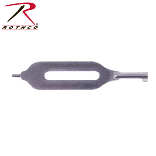 Rothco Open Slotted Handcuff Key-Rothco