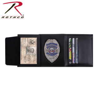 Rothco Leather ID & Badge Wallet-