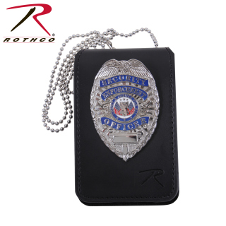 Rothco Universal Leather Badge & ID Holder-Rothco