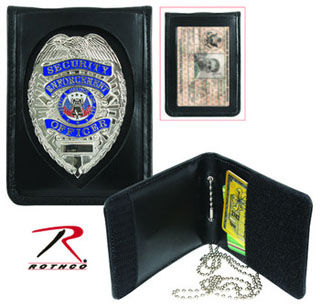 Rothco Neck ID Badge Holder-