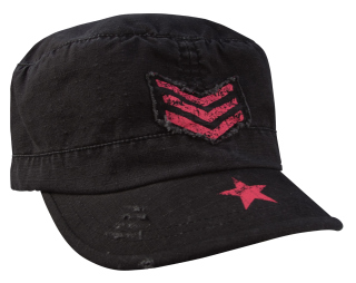 Rothco Womens Vintage Stripes & Stars Adjustable Fatigues Cap-Rothco