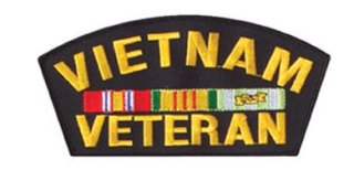 Rothco Vietnam Veteran Patch 6-