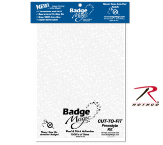Badge Magic Adhesive Cut To Fit Freestyle Kit-Rothco