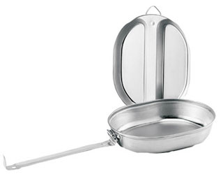 Rothco GI Type Stainless Steel Mess Kit-Rothco