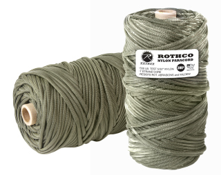 Rothco Nylon Paracord 550lb 300 Ft Tube-