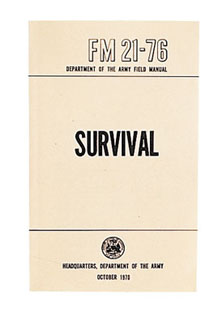 Rothco Survival Manual-