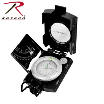 Rothco Deluxe Marching Compass-Rothco