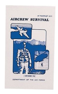 Rothco Air Force Survival Manual-