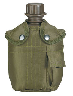 140_Rothco G.I. Type Canteen & Cover-