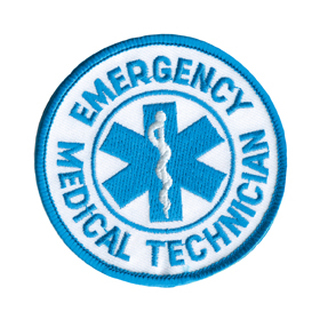 Rothco Round EMT Patch-
