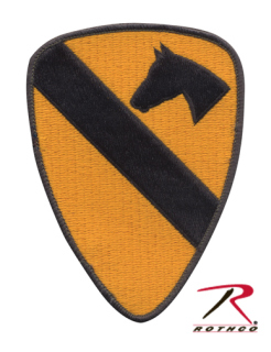 First Cavalry Patch-