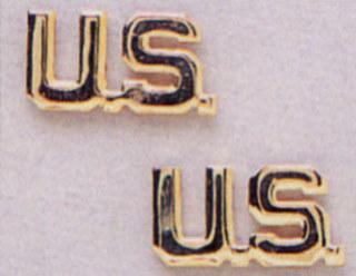 Rothco U.S. Letters Insignia-Rothco