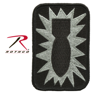Rothco 52nd Ordnance Group Bomb Morale Patch-Rothco