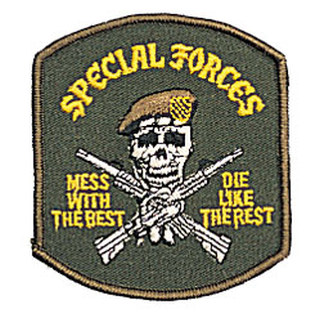 Rothco Special Forces Mess wtih the Best Patch-