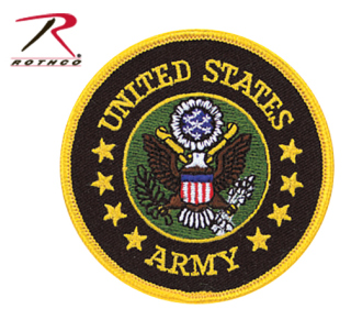 Rothco US Army Round Patch-