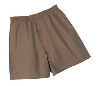 158 GI Type Men's Brown Boxer Shorts-Rothco