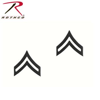 Rothco Corporal Polished Insignia-